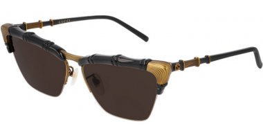 Sunglasses - Gucci - GG0660S - 001 BLACK // BROWN