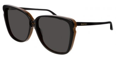 Sunglasses - Gucci - GG0709S - 002 BLACK // GREY