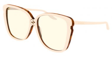 Sunglasses - Gucci - GG0709S - 003 IVORY // YELLOW