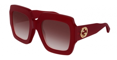 Sunglasses - Gucci - GG0178S - 005 RED // RED GRADIENT