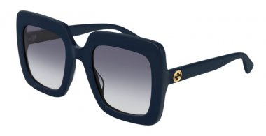 Sunglasses - Gucci - GG0328S - 007 BLUE // GREY GRADIENT