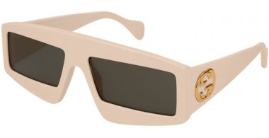 Sunglasses - Gucci - GG0358S - 002 IVORY // GREY