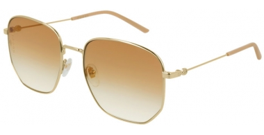 Sunglasses - Gucci - GG0396S - 003 GOLD // ORANGE GRADIENT