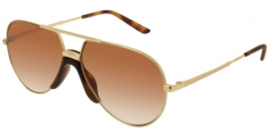 Sunglasses - Gucci - GG0432S - 002 GOLD // BROWN GRADIENT