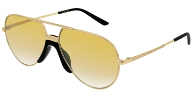 Sunglasses - Gucci - GG0432S - 003 GOLD // YELLOW GRADIENT