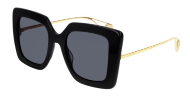 Sunglasses - Gucci - GG0435S - 001 BLACK // GREY