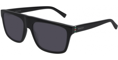 Sunglasses - Gucci - GG0450S - 001 BLACK // GREY