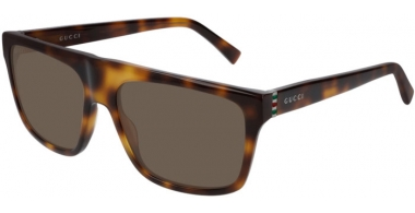 Sunglasses - Gucci - GG0450S - 003 HAVANA // BROWN