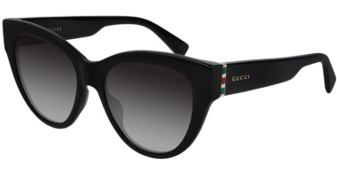 Sunglasses - Gucci - GG0460S - 001 BLACK // GREY GRADIENT