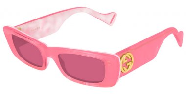Sunglasses - Gucci - GG0516S - 003 PINK // RED