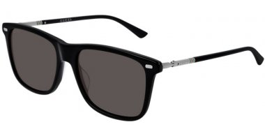 Sunglasses - Gucci - GG0518S - 001 BLACK RUTHENIUM // GREY