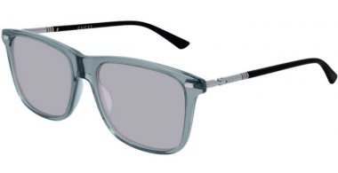Sunglasses - Gucci - GG0518S - 005 GREY RUTHENIUM // GREY
