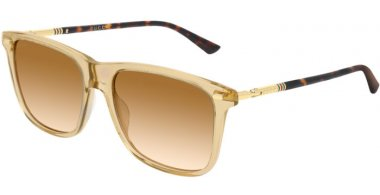 Sunglasses - Gucci - GG0518S - 006 LIGHT BROWN GOLD // BROWN GRADIENT