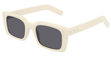 Sunglasses - Gucci - GG0539S - 002 IVORY // GREY