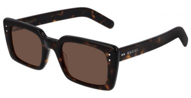 Sunglasses - Gucci - GG0539S - 003 DARK HAVANA // BROWN