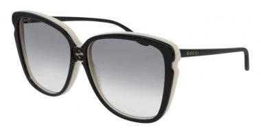Sunglasses - Gucci - GG0709S - 004 BLACK // GREY GRADIENT