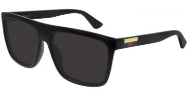 Sunglasses - Gucci - GG0748S - 001 BLACK // GREY