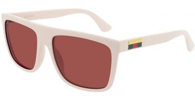 Sunglasses - Gucci - GG0748S - 004 WHITE // RED