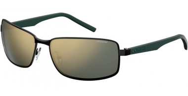 Sunglasses - Polaroid - PLD 2045/S - 003 (LM) MATTE BLACK // GREY GOLD MIRROR POLARIZED