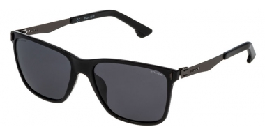 Sunglasses - Police - SPL365 FLOW 2 - Z42Z  SHINY BLACK // GREY GRADIENT POLARIZED
