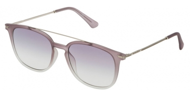 Sunglasses - Police - SPL360N HIGHWAY TWO 2 - 7EEM  MATTE TRANSPARENT GREY GRADIENT // GREY GRADIENT ANTIREFLECTION