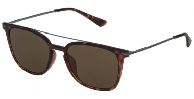 Sunglasses - Police - SPL360N HIGHWAY TWO 2 - 07R4 SHINY SPOTTED HAVANA // BROWN ANTIREFLECTION
