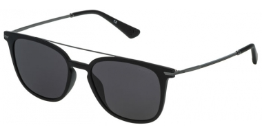 Sunglasses - Police - SPL360N HIGHWAY TWO 2 - 0U28 SEMI MATTE BLACK // GREY ANTIREFLECTION