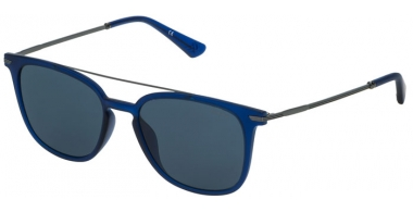 Sunglasses - Police - SPL360N HIGHWAY TWO 2 - 0V97 BLUE // BLUE