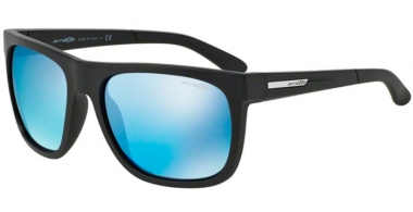 Gafas de Sol - Arnette - AN4143 FIRE DRILL - 01/55 MATTE BLACK // BLUE MIRROR