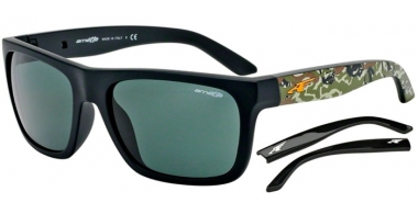 Gafas de Sol - Arnette - AN4176 DROPOUT - 225771 FUZZY BLACK // GREY GREEN