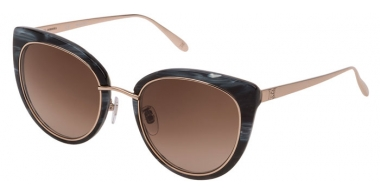 Lunettes de soleil - Carolina Herrera New York - SHN594M - 0GFZ  MARBLE BLACK // BROWN GRADIENT