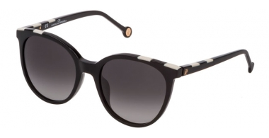 Gafas de Sol - Carolina Herrera - SHE794 - 0700  SHINY BLACK // GREY GRADIENT