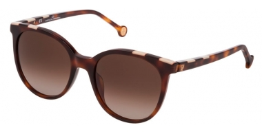 Gafas de Sol - Carolina Herrera - SHE794 - 0752  SHINY DARK HAVANA // BROWN GRADIENT