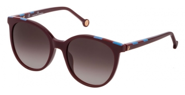 Gafas de Sol - Carolina Herrera - SHE794 - 09FD  SHINY PLUM // BROWN PINK GRADIENT