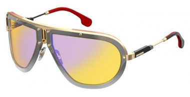 Sunglasses - Carrera - CA AMERICANA - DYG (CU)  GOLD YELLOW // BROWN YELLOW GRADIENT MIRROR