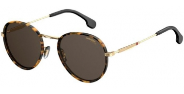 Sunglasses - Carrera - CARRERA 151/S - RHL (IR)  HAVANA GOLD BLACK // GREY