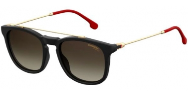 Sunglasses - Carrera - CARRERA 154/S - 003 (HA)  MATTE BLACK // BROWN GRADIENT