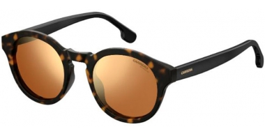 Sunglasses - Carrera - CARRERA 165/S - 086 (K1)  DARK HAVANA // GOLD MIRROR