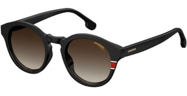 Sunglasses - Carrera - CARRERA 165/S - 807 (HA)   BLACK // BROWN GRADIENT