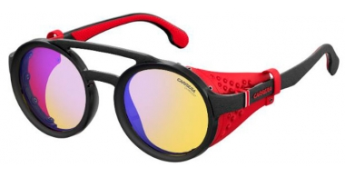 Sunglasses - Carrera - CARRERA 5046/S - 003 (HW)  MATTE BLACK // YELLOW