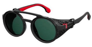 Sunglasses - Carrera - CARRERA 5046/S - 807 (QT)  BLACK // GREEN