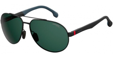 Gafas de Sol - Carrera - CARRERA 8025/S - O6W (QT)  BLUE RUTHENIUM DARK GREY // GREEN