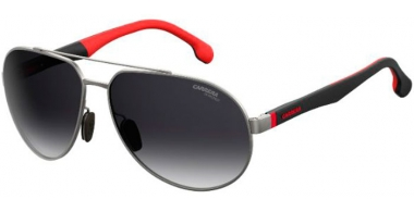Gafas de Sol - Carrera - CARRERA 8025/S - R80 (9O)  STEEL METAL DARK RUTHENIUM // DARK GREY GRADIENT