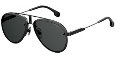Sunglasses - Carrera - CARRERA GLORY - 003 (2K)  MATTE BLACK // GREY ANTIREFLECTION