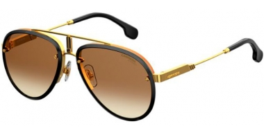 Sunglasses - Carrera - CARRERA GLORY - 2M2 (86)  BLACK GOLD // BLACK BROWN GRADIENT GREEN ANTIREFLECTION
