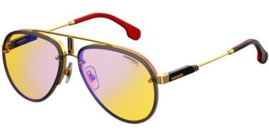 Sunglasses - Carrera - CARRERA GLORY - DYG (HW)  GOLD YELLOW // YELLOW