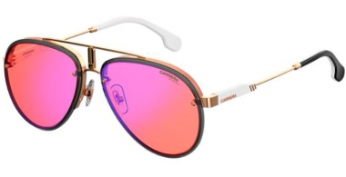 Sunglasses - Carrera - CARRERA GLORY - Y11 (UZ)  GOLD RED // RED MIRROR