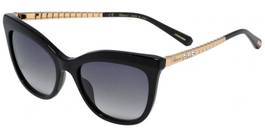 Sunglasses - Chopard - SCH260S - 0700  SHINY BLACK // GREY GRADIENT ANTIREFLECTION