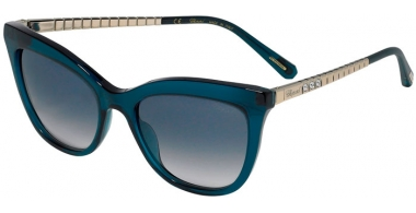 Sunglasses - Chopard - SCH260S - 0M26  SHINY TRANSPARENT GREEN // BLUE GRADIENT PINK ANTIREFLECTION