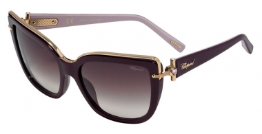 Sunglasses - Chopard - SCHC80S - 09FD  SHINY PLUM // BROWN GRADIENT PINK ANTIREFLECTION